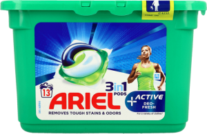 Kapsułki do prania ARIEL All in 1 Active+ 13szt