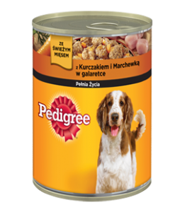 Karma Pedigree Pies Kura-Marchew 400G Puszka