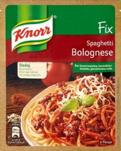 Fix Knorr Do Spaghetti Bolognese 44G
